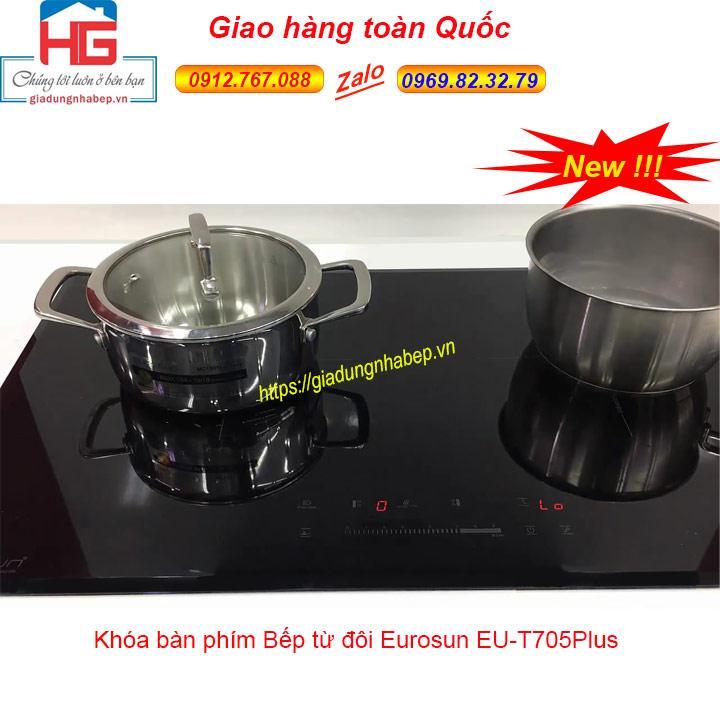 Giá Bếp từ đôi Eurosun EU-T705Plus