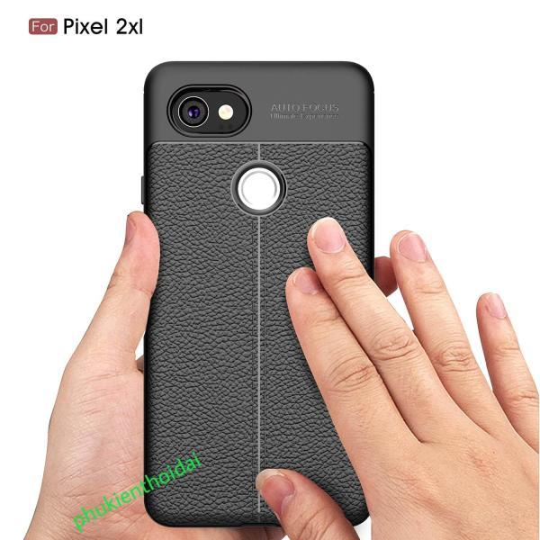Ốp lưng Google Pixel 2XL chống sốc vân da hiệu Auto Focus cao cấp siêu bền chống mồ hôi vân tay