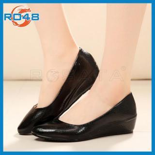 Giày búp bê nữ ROSATA đế xuồng mũi nhọn RO48 thumbnail