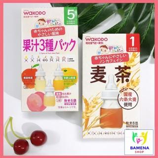 Trà Wakodo thanh nhiệt Nhật Bản cho bé ăn dặm trà trái cây 3 vị 5m, cam kết hàng đúng mô tả, chất lượng đảm bảo, an toàn cho người sử dụng thumbnail