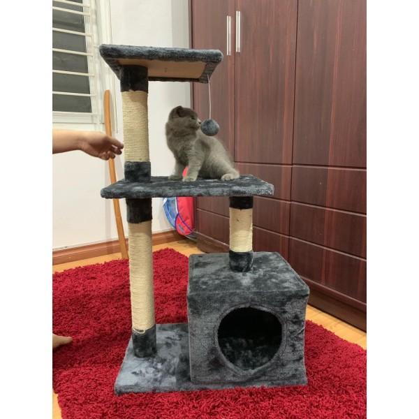 (Có Sẵn) Cattree 4 Tầng Cho Mèo