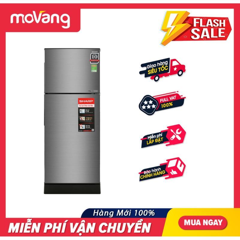 [TRẢ GÓP 0%] Tủ lạnh Sharp 196 lít SJ-X201E-DS
