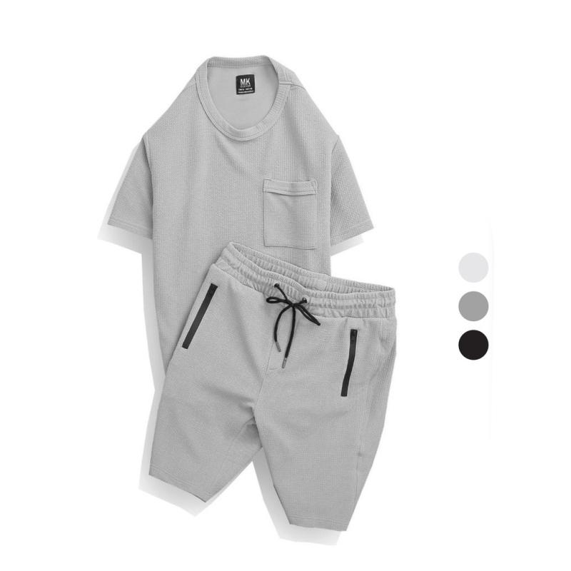 Nơi bán Bộ đũi nam mặc nhà, Bộ thể thao nam SUDODO cao cấp chất liệu đũi Xốp thoáng mát thời trang, BN.HH002