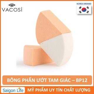 Bông phấn tam giác Vacosi - BP12 (3miếng túi) thumbnail