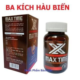 X Max Time Ba Kích Hàu Biển - Bổ Thận, Tráng Dương, Tăng Cường Sinh Lý,Hỗ Trợ Làm Chậm Quá Trình Mãn Dục Ở Nam Giới- Hộp 30 Viên thumbnail