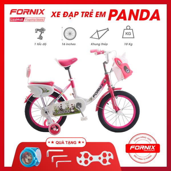 Mua Xe đạp trẻ em Fornix Panda- Vòng bánh 16 inch (KÈM SÁCH HƯỚNG DẪN) - Bảo hành 12 tháng + Tặng (Bộ lắp ráp - Đồng hồ trẻ em)
