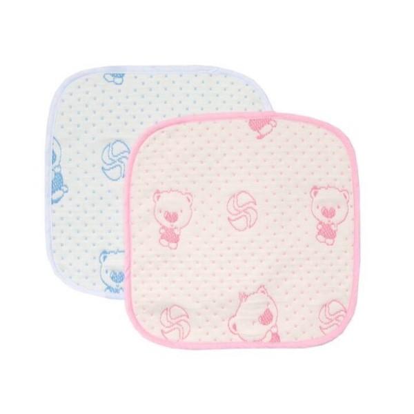 Miếng lót chống thấm 4 lớp giặt được cho bé sơ sinh KT 30x30cm - L4