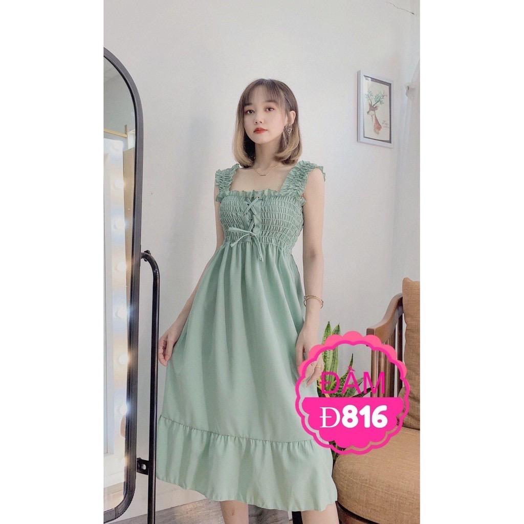 Đầm Suông Đuôi Cá Đủ Màu (kèm ảnh Thật) Giá Giảm