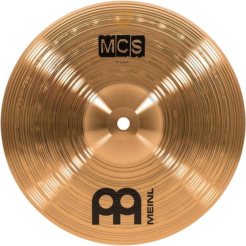 Cymbal:  MEINL MCS 10 inch