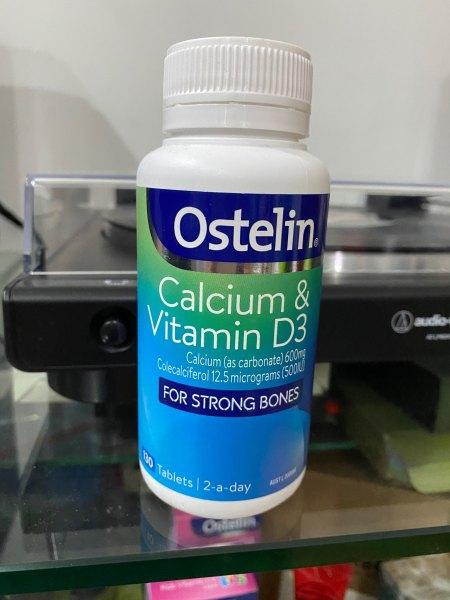Ostelin Vitamin D & Calcium Của Úc - 130 viên - hàng xách tay Úc