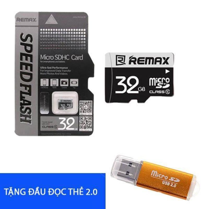 Thẻ nhớ Remax class 10 32GB Tặng đầu đọc thẻ