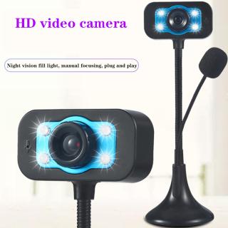 [WEBCAM SẴN SÀNG] Webcam 720 Máy Tính Để Bàn LED HD, Máy Quay USB Micro Tích Hợp, Video Giảng Dạy giống Với Microphone,Máy Ảnh HD AMORUS, Camera Nhìn Ban Đêm Cho Máy Tính Xách Tay Webcam Camera, Video Phát Trực Tiếp Máy Ảnh Kỹ Thuật Số. thumbnail