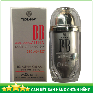 Kem trang điểm dưỡng trắng da BB Alpha (New) Thorakao 30g thumbnail