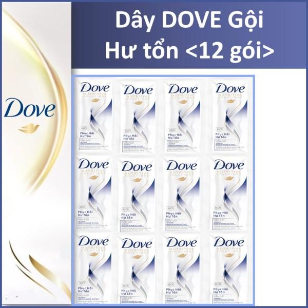 Dầu xả Dove Hư tổn Dây 12 gói cao cấp