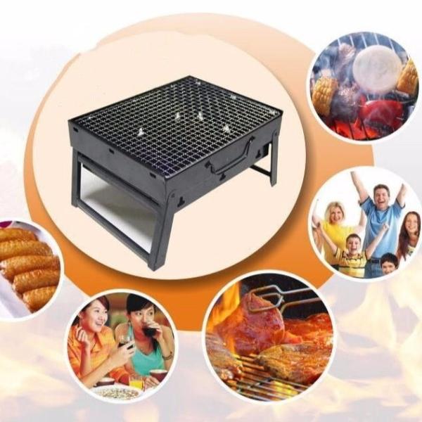 [HOT DEAL] Bếp nướng than hoa vuông xếp gọn, Chất liệu thép cao cấp , thuận tiện đi du lịch, nướng BBQ ngoài trời , tổ chức tiệc gia đình – Bảo hành 6 tháng , 1 đổi 1 nếu lỗi của nhà sản xuất