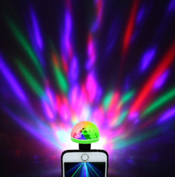 [HCM]Đèn Led Vũ Trường Mini Cổng USB chiếu sáng nhiều màu sắc
