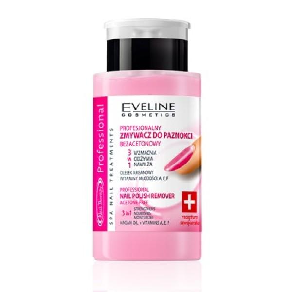 Nước tẩy sơn móng tay & dưỡng móng Eveline Nail Therapy 75ml cao cấp
