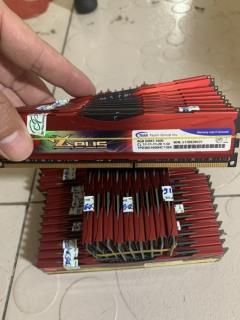 Ram DDR3 8GB - Bus 1600 Team Zeus Tản Nhiệt Thép Đẹp Không Kén Main - Vi Tính Bắc Hải thumbnail