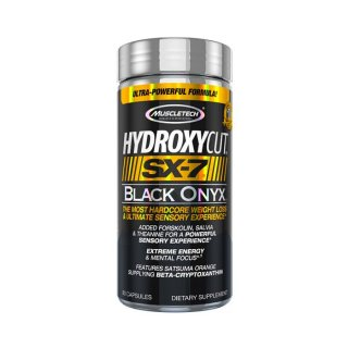 Đốt Mỡ MuscleTech Hydroxycut SX-7 Black Onyx - Viên Uống Đốt Mỡ Cao Cấp [80 Viên] - Chính Hãng Muscle Fitness thumbnail
