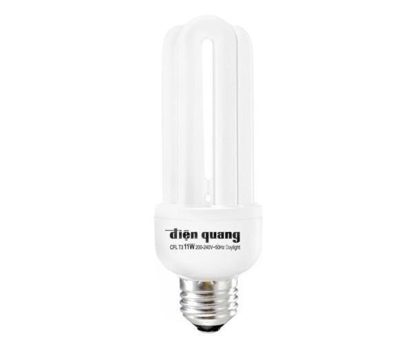 Bóng Compact, bóng huỳnh quang, bóng U 14W Điện Quang ( Ánh sáng trắng ) - Điện Việt