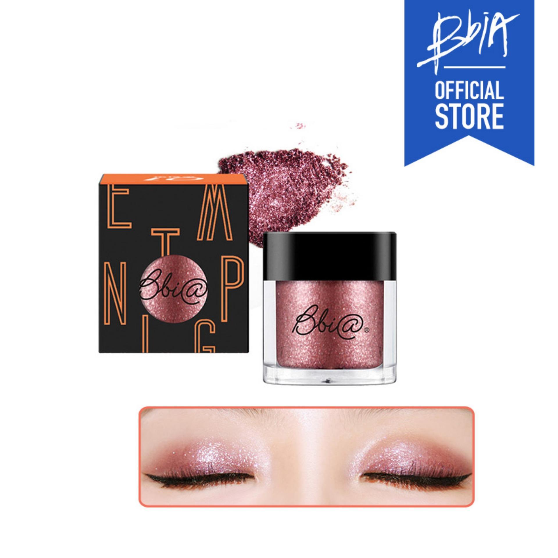 Phấn mắt nhũ Bbia Pigment - 05 Bitter Taste (Màu đỏ tía pha nâu) tốt nhất