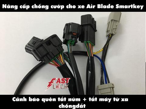 Nâng cấp chống cướp cho Smartkey AirBlade