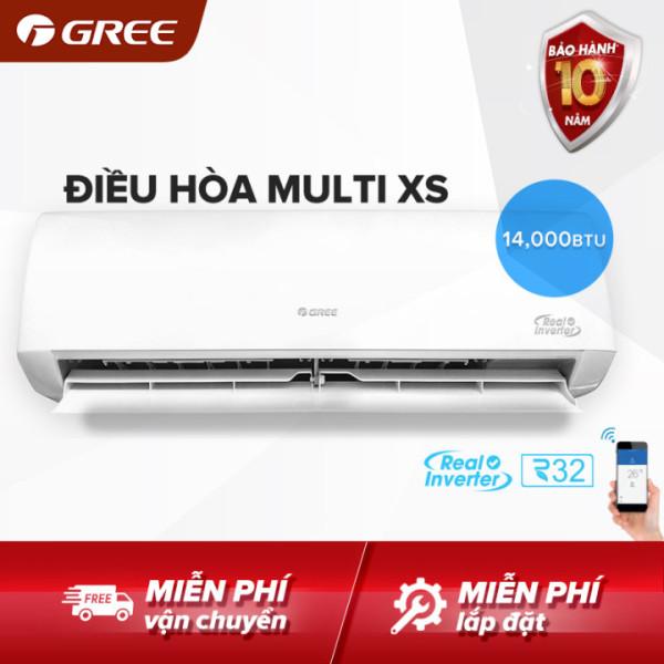 Bảng giá Điều hòa GREE- công nghệ Real Inverter -1 dàn nóng 14.000 BTU kết hợp với 2 dàn lạnh 7000 BTU và 9000 BTU - MULTI XS(Trắng) - Hàng phân phối chính hãng