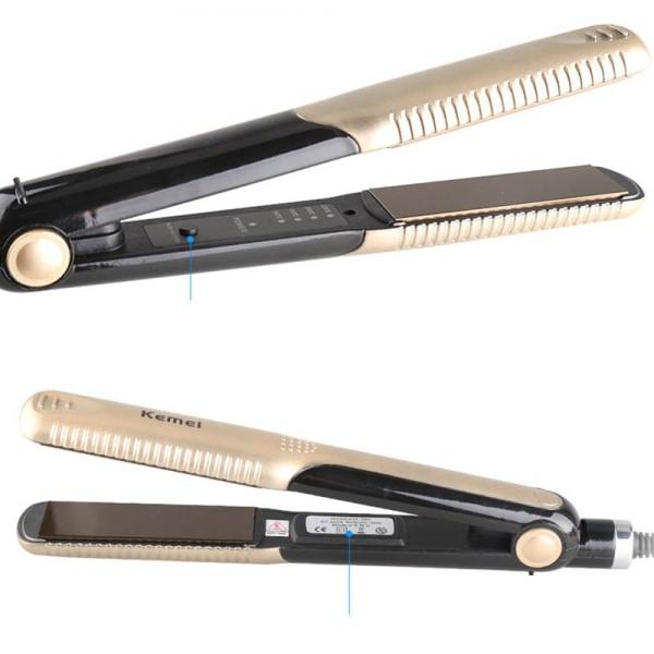 Máy kẹp tóc Kemei Km-327 dễ sử dụng, không làm hư tóc