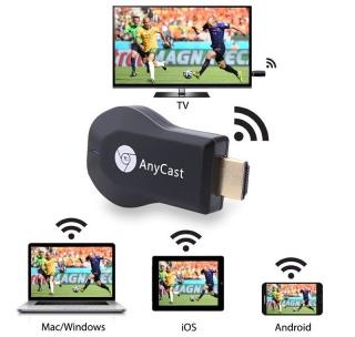 HDMI KD ANYCAST M4PLUS - Kết Nối Điện Thoại Với Tivi Cực Dễ - Full HD 1080P - HDMI không dây hỗ trợ 3G 4G 5G WIFI - Thiết bị phát tín hiệu HDMI không dây Anycast M4 Plus. 4