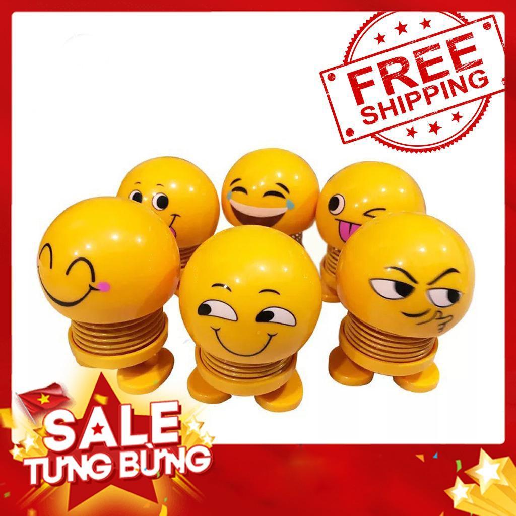 (SALE 50%) Thú Nhún Lò Xo - Emoji lò xo - Trang Trí Xe Hơi - Con Lắc Lò Xo - Emoji - Đồ Chơi Văn Phòng - Đồ chơi cho bé