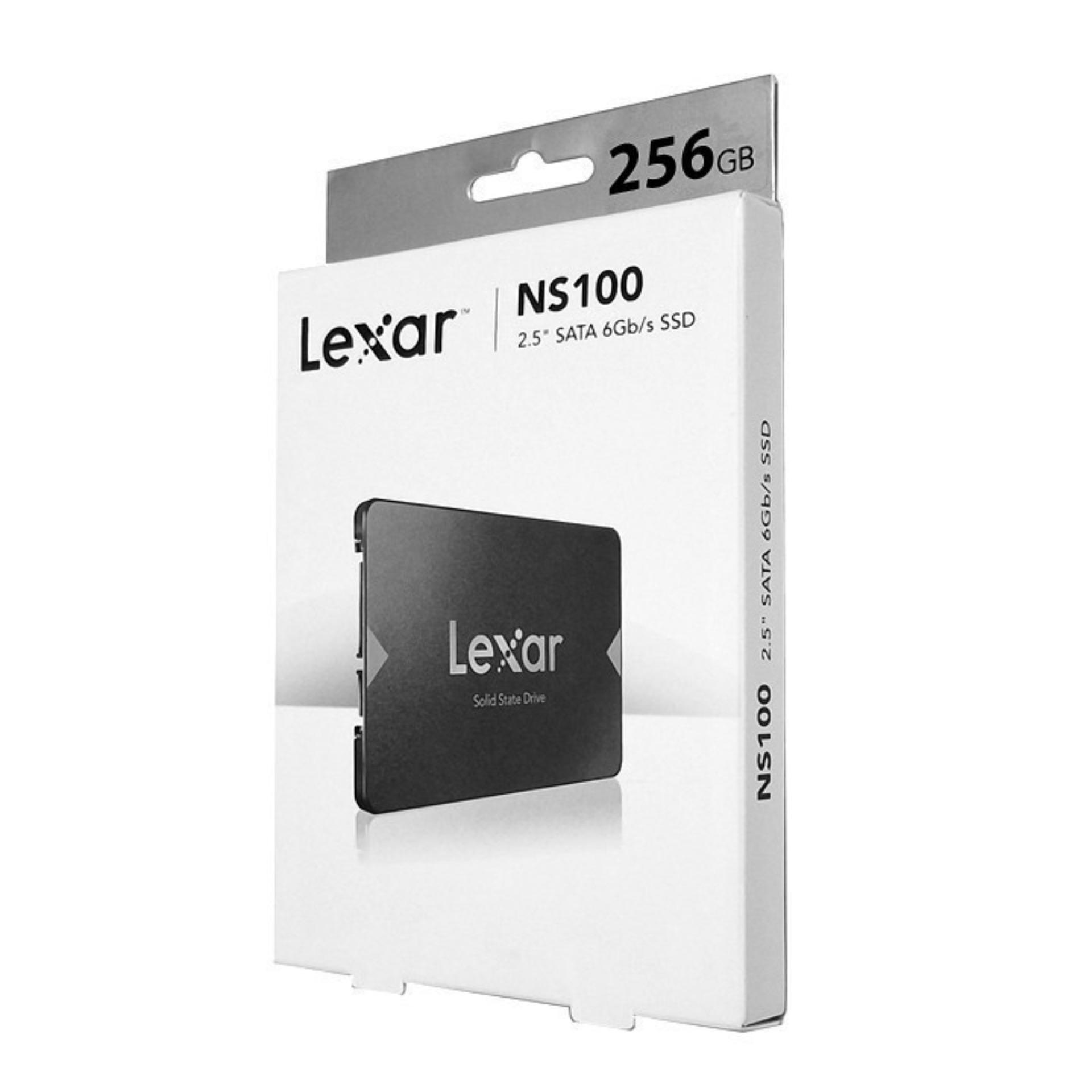Ổ cứng SSD 2.5 inch SATA Lexar NS100 512GB, 256GB, 128GB - bảo hành 3 năm