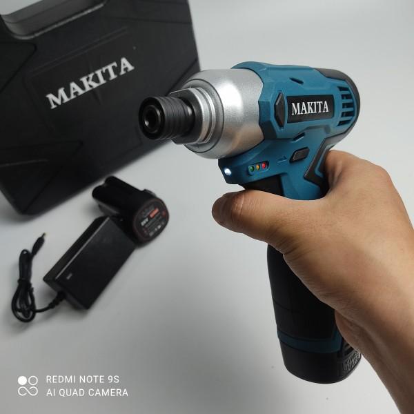 Máy Bắn Vít - Máy Khoan Pin Nhỏ Gọn Makita 26V - 3 Chế Độ Khoan - Bộ Phụ Kiện 24 Chi Tiết Đi Kèm