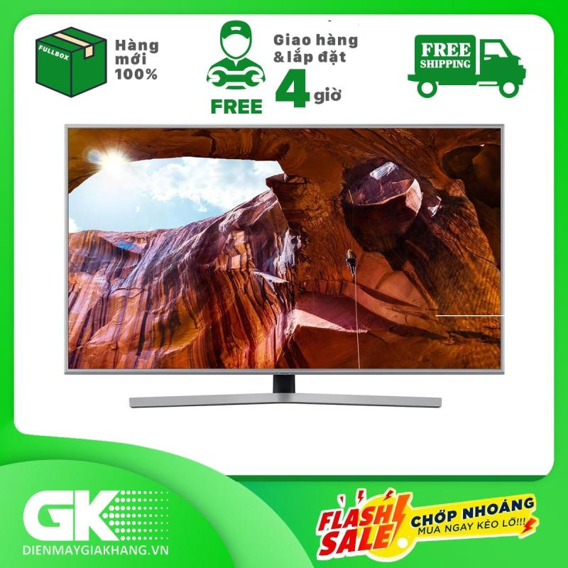 Bảng giá Smart Tivi Samsung 4K 43 inch UA43RU7400 Mẫu 2019 - Dynamic Crystal Color cho trải nghiệm hình ảnh chân thực, đầy màu sắc, công nghệ UHD Dimming hoàn thiện chất lượng hình ảnh - Bảo hành 1 năm