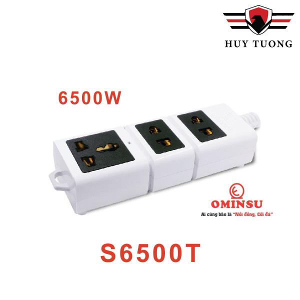 Ổ cắm không dây siêu chịu tải 6500W Ominsu chuyên dùng cho công trình cao cấp - Huy Tưởng giá rẻ