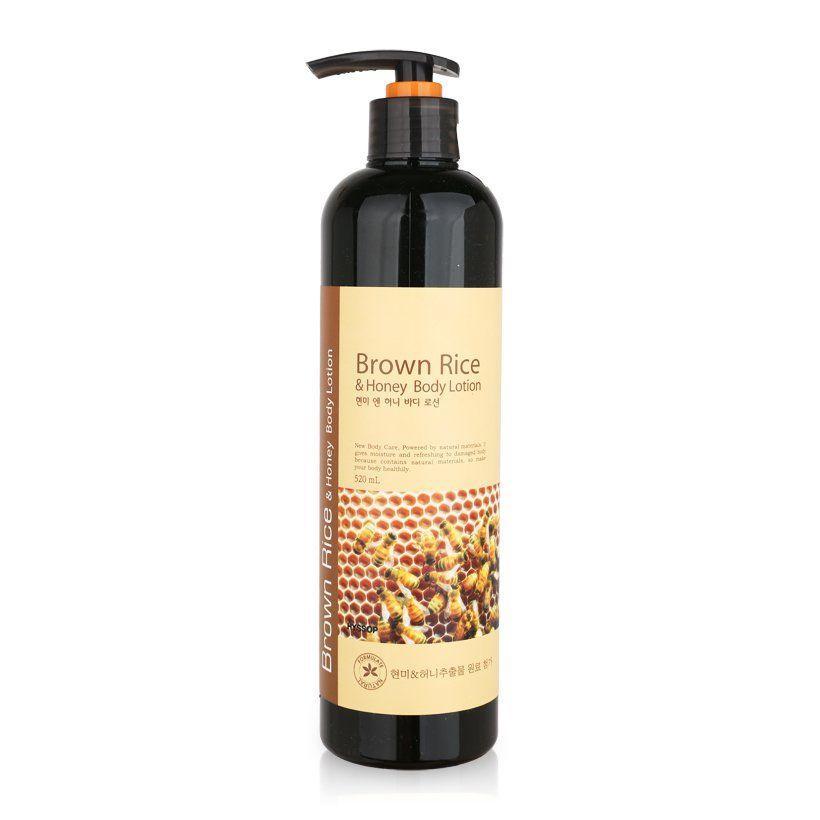 Sữa dưỡng thể tinh chất gạo lứt & mật ong Hyssop Brown Rice & Honey Body Lotion