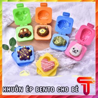 Khuôn Tạo Hình Cơm , Trứng ,Làm Bánh Cho Bé Ăn Dặm Ngon Miệng thumbnail