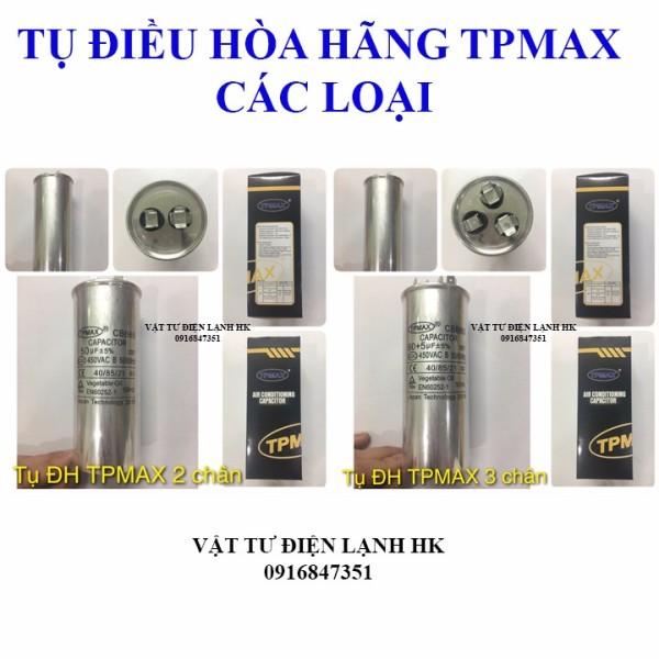 Bảng giá Tụ Điều Hòa 2 Chân - 3 chân (25µF đến 60µF) hãng Nhật TPMAX (chọn đúng loại khi đặt hàng) - Capa - Capacitor TP MAX Điện máy Pico
