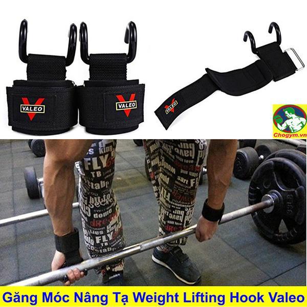 Đôi Dây Cuốn Cổ Tay Có Móc Nâng Tạ Weight Lifting Hook Valeo