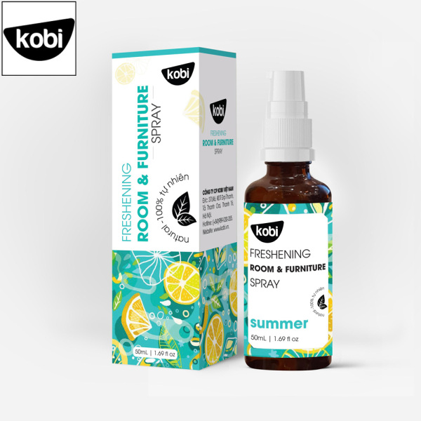 Tinh dầu xịt phòng khử khuẩn Summer Kobi giúp thơm phòng, đuổi muỗi, thơm quần áo, khử mùi hôi giày, ô tô hiệu quả nhập khẩu