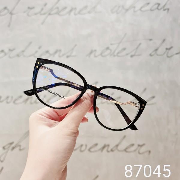 Mua Kính thời trang mắt mèo Lilyeyewear 87045 chất liệu nhựa dẻo tính bền dẻo cao phù hợp với nhiều khuôn mặt thiết kế vuông thời trang nhiều màu có thể cắt cận một size