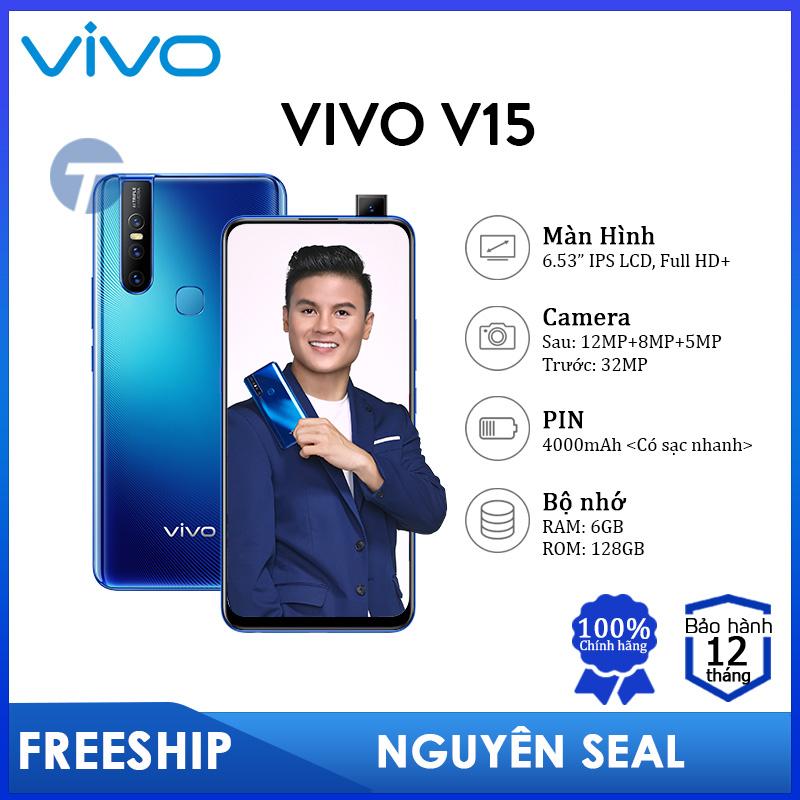 Điện thoại VIVO V15 (6GB/128GB) - Camera Selfie Pop-up, Màn hình tràn viền, PIN lớn 4000mAh - Bảo hành 12 tháng