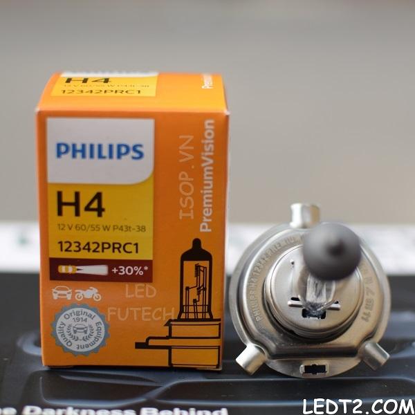 Đèn Halogen Philips Premium Vision +30% - Số lượng: 1 cái