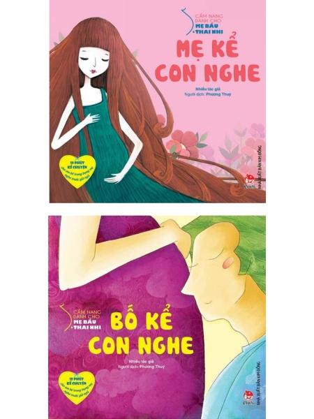 Combo 2 sách Bố kể con nghe + Mẹ kể con nghe [Thai giáo ngôn ngữ]