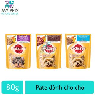 Thức ăn pate cho chó Pedigree - Gói 80g thumbnail