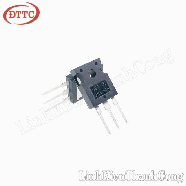 Bảng giá Diode Xung D92-02 20A 200V TO247