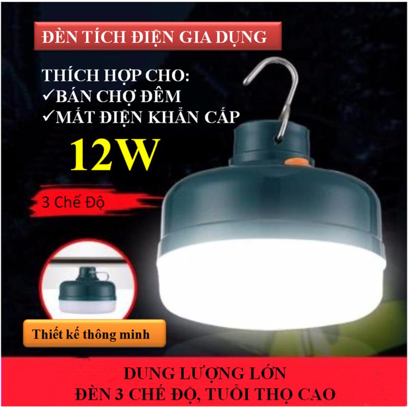 Đèn Led tích điện gia dụng chiếu sáng khẩn cấp lúc mất điện, đèn siêu sáng chiếu sáng ban đêm(12W/24W/36W)