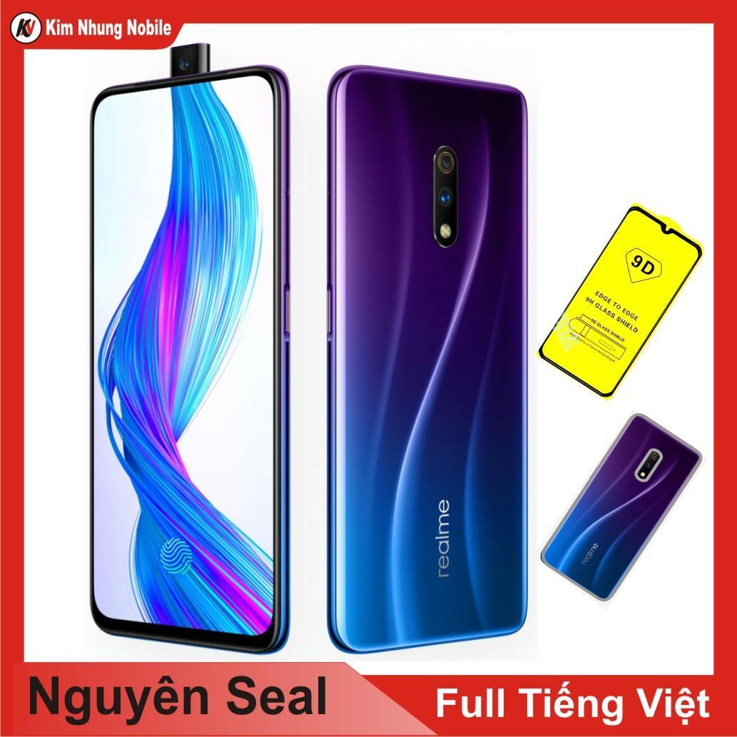 Điện thoại Realme X 64GB Ram 4GB + Ốp lưng + Cường lực Kim Nhung – Hàng nhập khẩu.