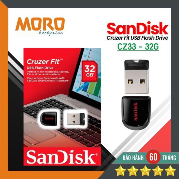 Bảng giá USB mini siêu nhỏ Sandisk Cruzer Fit CZ33 - USB 16GB / 32GB 2.0 Phong Vũ