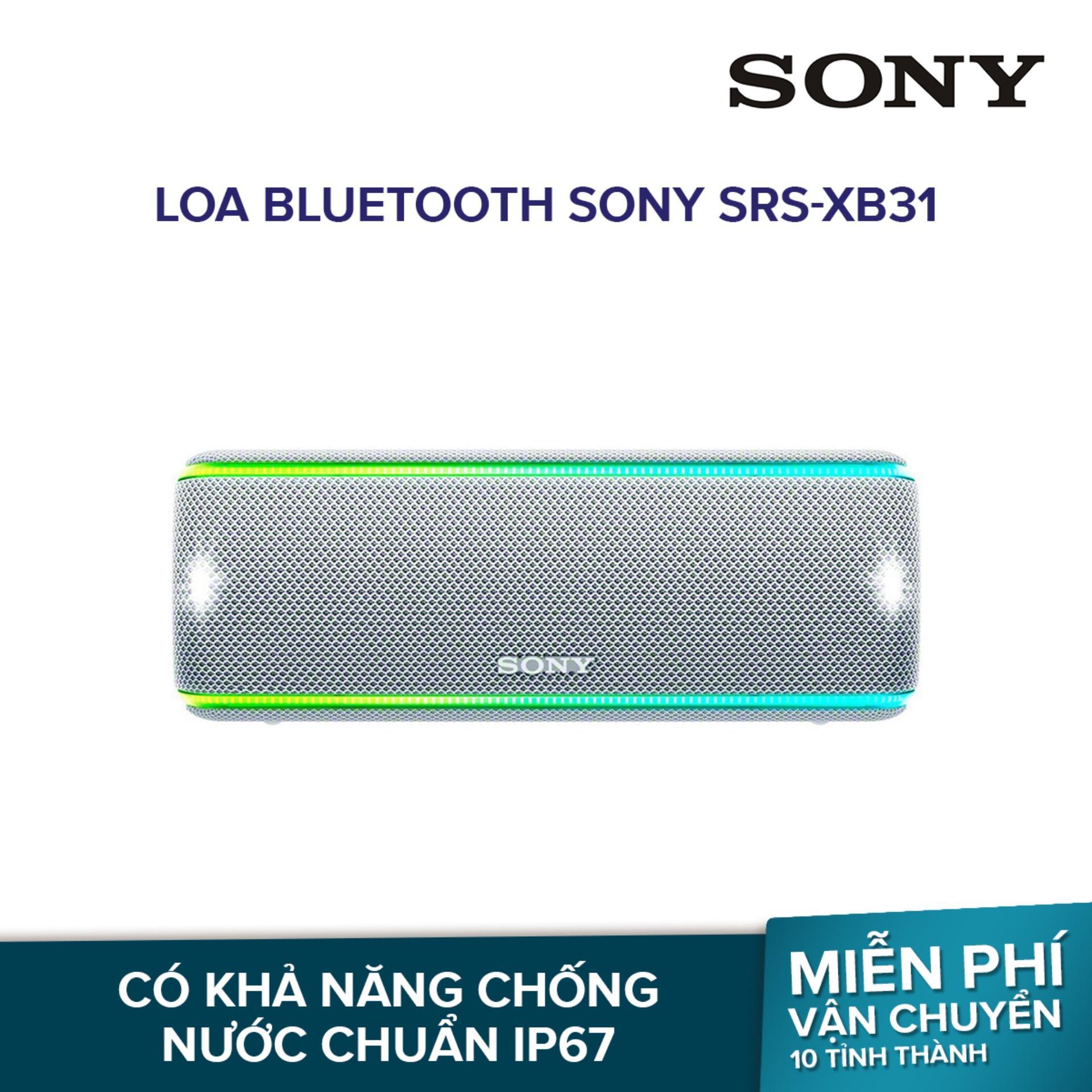 Loa Bluetooth Sony SRS-XB31 - Hãng phân phối chính thức