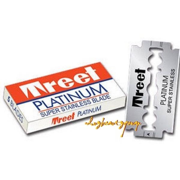 Lưỡi Lam Treet Platinum Hộp Màu Cam 200 Lưỡi/ 100 Lưỡi giá rẻ